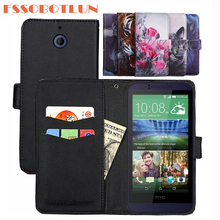 FSSOBOTLUN 9 kleuren Voor HTC Desire 510 Case PU Lederen Retro Flip Cover Shell Magnetische Mode Portemonnee Gevallen Kickstand Band