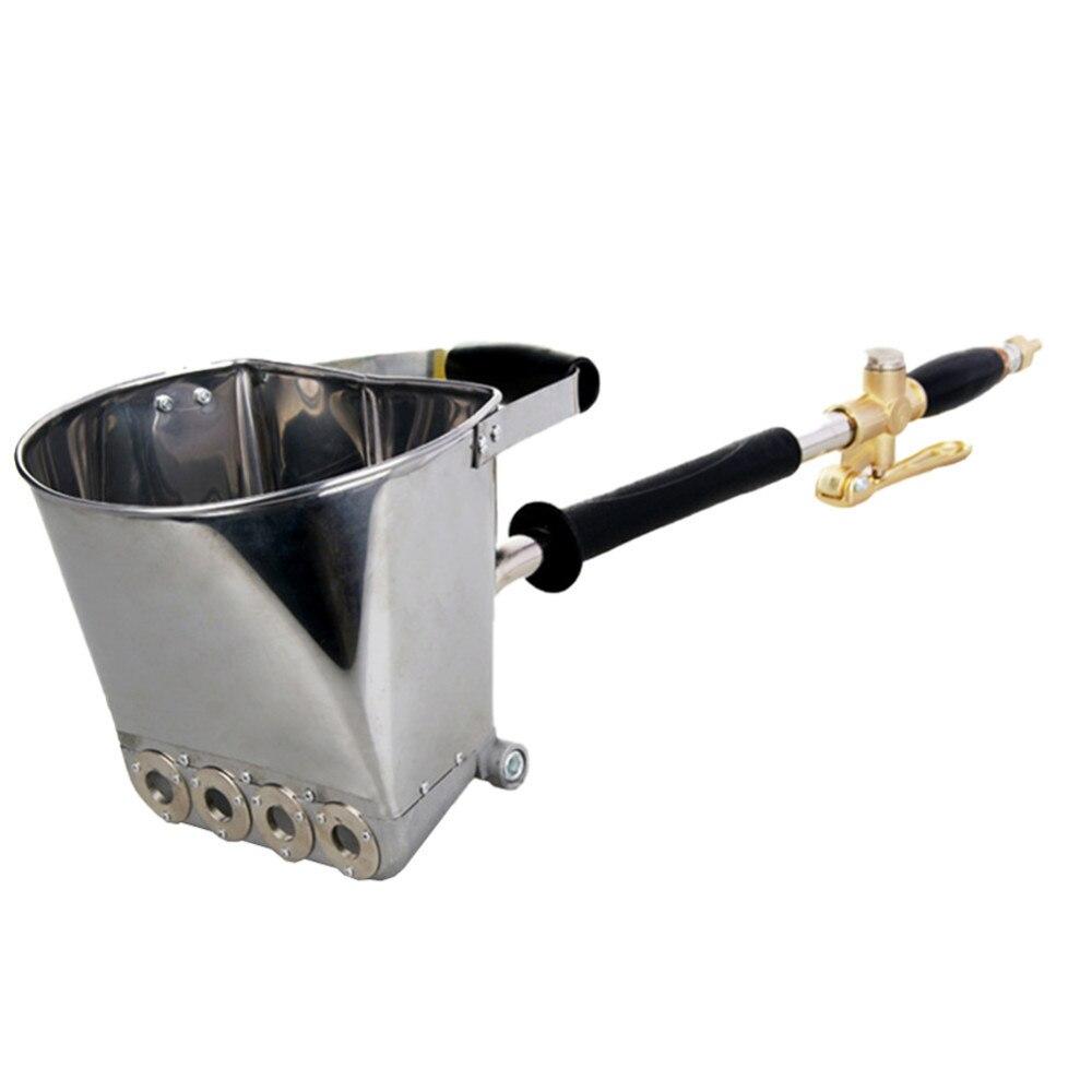 Pneumatic Cement Mortar Gun High Light Pressure Air Cement Spray Gun Hopper Automatic Sprayer