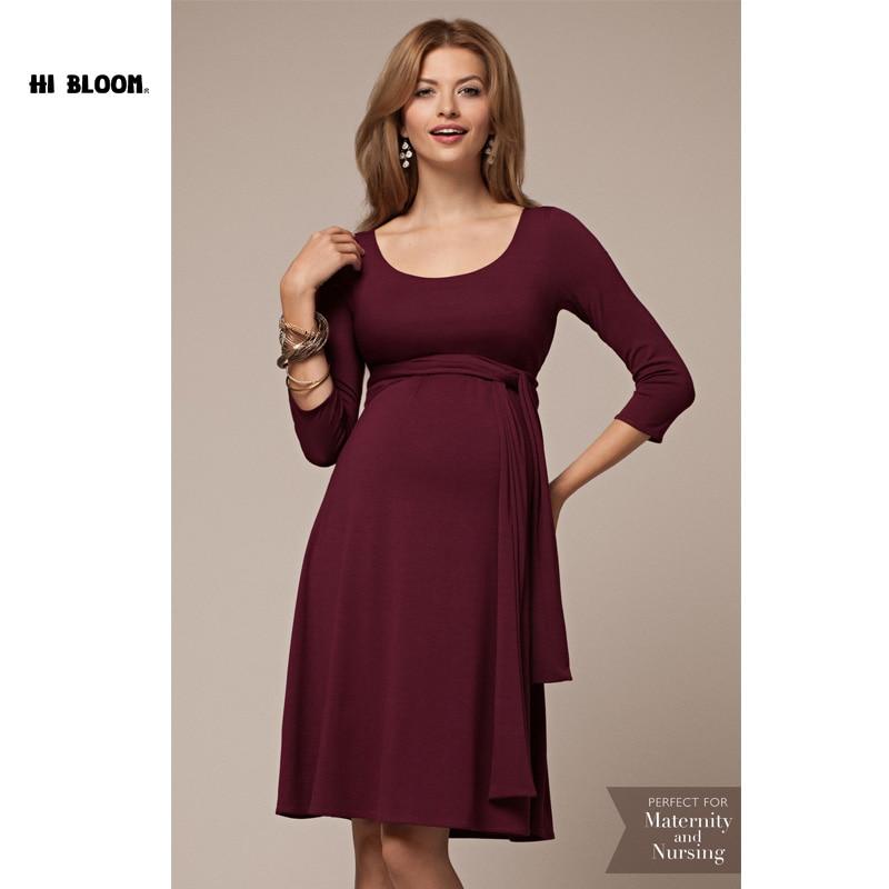 ФОТО Nursing Maternity Clothes Maternity Dress Elegant Easter Evening Party Dresses For Pregnancy Black Skirt Office Lady Vestidos