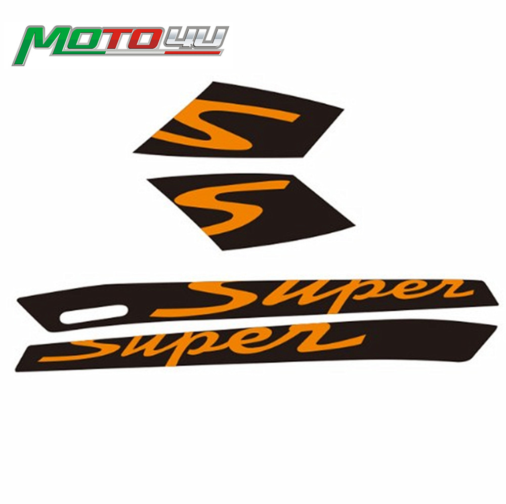 For Vespa GTS300 2D Decal Sticker With Glue Super Sport Fits Gts With The Two Long Vents In Each Panel New