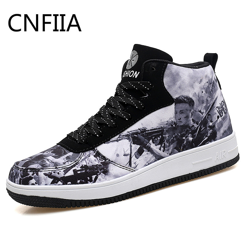 CNFIIA Men Boots Fashion Male Boots Ankle Boots Clarge Size 45 Men 2018 New Fashion Mens Shoes Casual Shoes Design High Quality