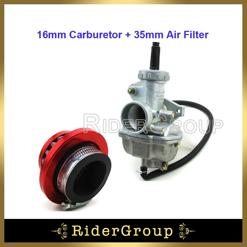20mm Carburetor Air Filter 50cc 70cc 90cc 110cc ATV Quad Dirt Pit Bike Go Kart