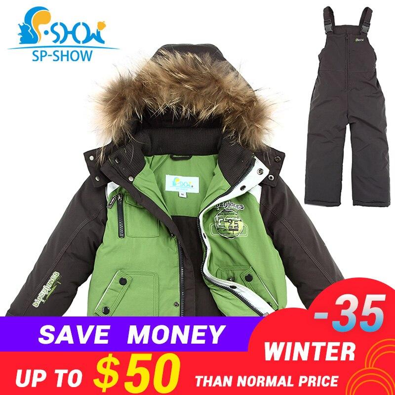 одежда для детей 2-7 лет ,куртки для мальчиков с бесплатной доставкой ,новая зимняя коллекция 2018 г,детский утолщенный комплект с капюшоном(ку...