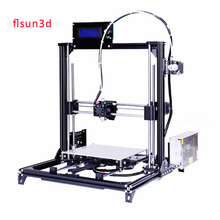 2016 New Aluminium Structure flsun3d 3D Printer DIY Prusa i3 3d Printer Kit Heated Bed Two Rolls Filament SD Card