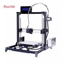 2017 New Aluminium Structure Flsun3D 3D Printer Auto-leveling  DIY Prusa i3 3D Printer Kit Heated Bed Two Rolls Filament SD Card
