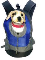 Pet Carrier Schouders Back Front Verpakking Hond Kat Reistas Mesh Rugzak Hoofd out Ontwerp Reizen Verstelbare Schouderriem