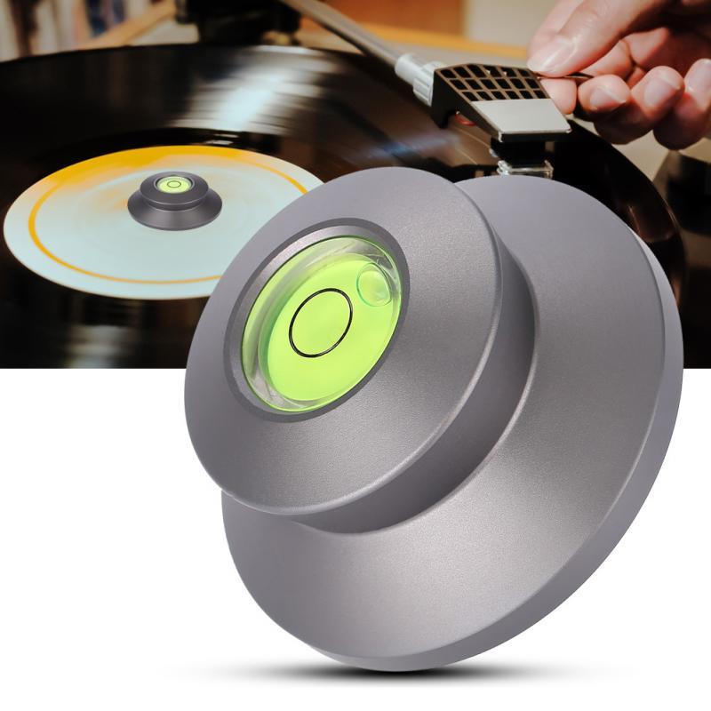 Vbestlife Aluminium Lp Disc Stabilisator Plattenspieler Ebene Vinyl Record Vibration Ausgewogene Phonograp Wasserwaage Schwarz Gold Silber Rabatte Verkauf Tragbares Audio & Video Plattenspieler