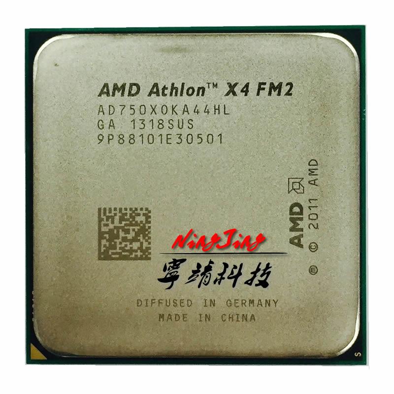 Четырехъядерный процессор AMD Athlon II X4 750X 750 3,7G 65W AD750XOKA44HL, разъем FM2 socket fm2 athlon ii x4athlon ii   АлиЭкспресс