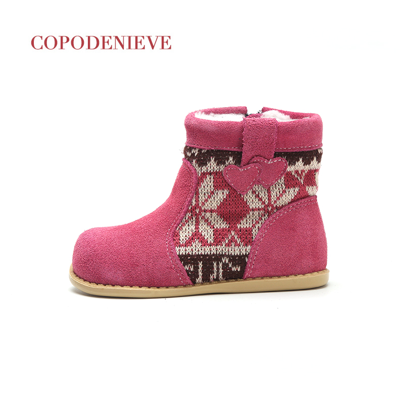 COPODENIEVE  Winter Warm Baby Shoes , Fashion Waterproof Children's Shoes , Girls Boys Boots Perfect For Kids Accessories