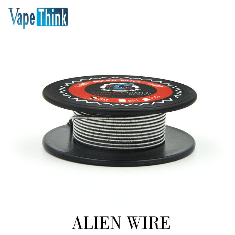 Vapethink Dampf Shark ALIEN CLAPTON A1 spule DRAHT 3 mt 9 feet diy ...