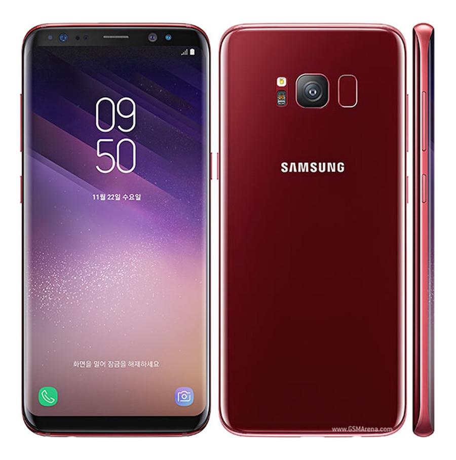 Refurbished Samsung Galaxy S8  64GB ROM+4GB RAM, 3500mAh,12+8MP, 5.8Inch  Dual sim Smartphone silver dual sim 4