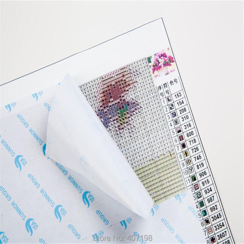 Nueva venta 3D Cuadros de punto de cruz patrón 5d [Diamond Bordado ...