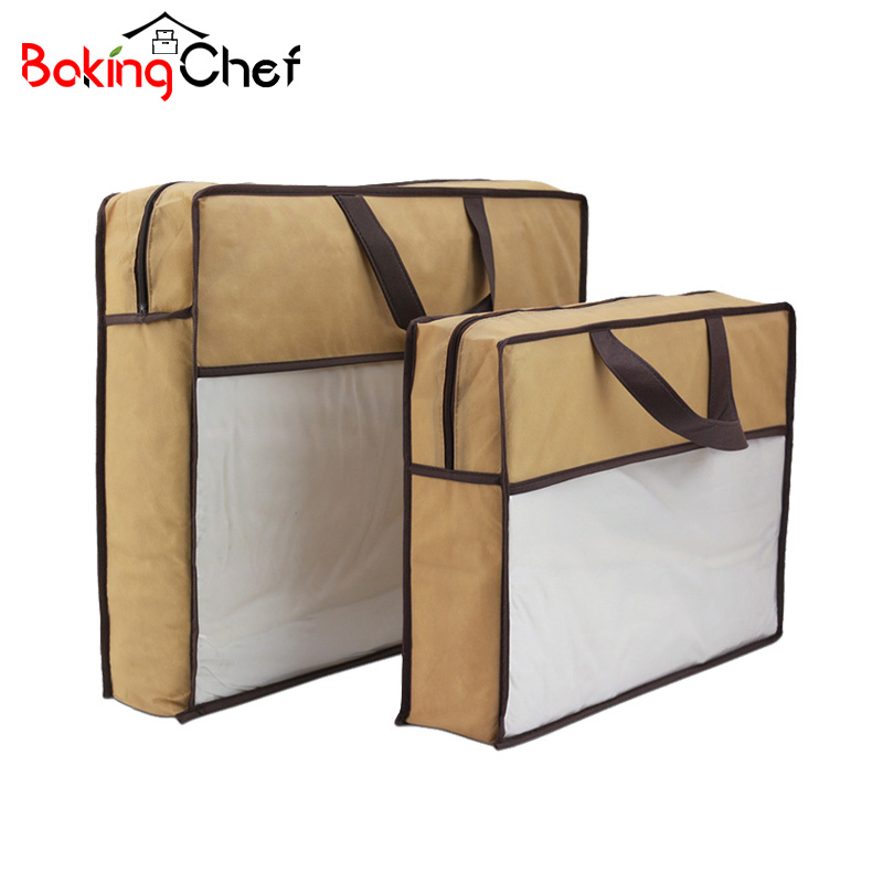 Bakingchef Quilt Storage Bag Household Blanket Pillow Clothing Container Wardrobe Bedding Gear Case Home Accessories Organizer Sale Price Storage Bags