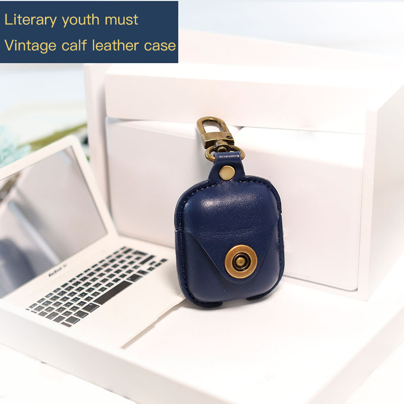 Luxury Leather Bluetooth Wireless Earphone Case For Apple AirPods Ultra thin Cover For Airpods Charging Box Funda Accessories in Earphone Accessories from Consumer Electronics