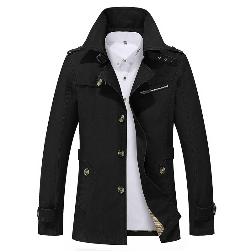 Male-Overcoat-Long-Coat-Fashion-Men-Trench-Coat-Turn-Down-Collar-Cotton-Solid-Color-Single-Breasted (5)