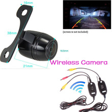 цена на YeHeng Store Wireless Parking Kit 170 degree Wide Angle CCD Night Vision Car Reverse Camera Rearview Backup Color Parking Camera