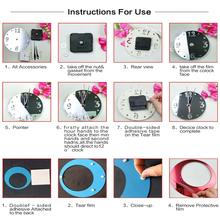 Special Offer Sale Best-selling Mirror Wall Clock 3 D Heart Stick Modern Home Decoration Diy Fashion Clock,