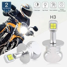 2pcs Bevinsee Motorcycle LED Headlight For BMW K1200GT 2003-2004 led lamp motorbike ATV UTV