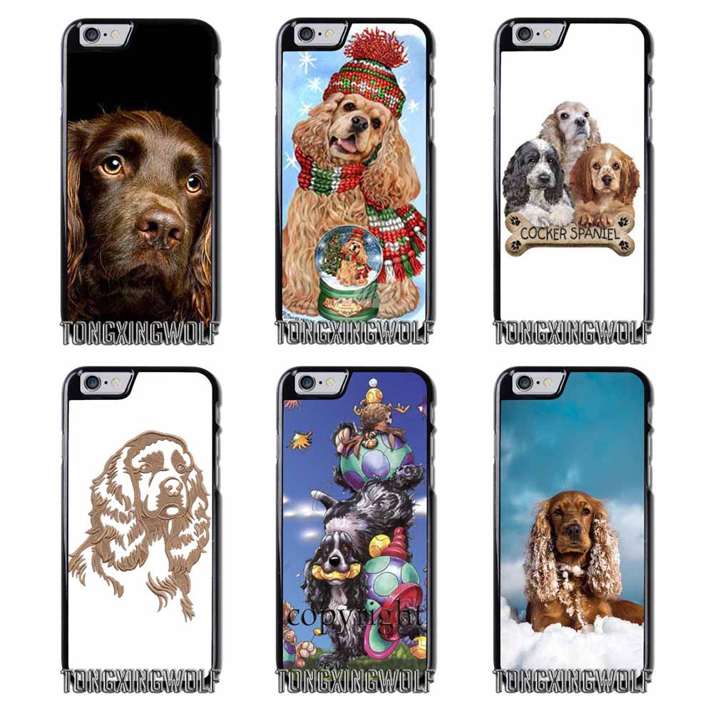 iphone 7 phone case spaniel