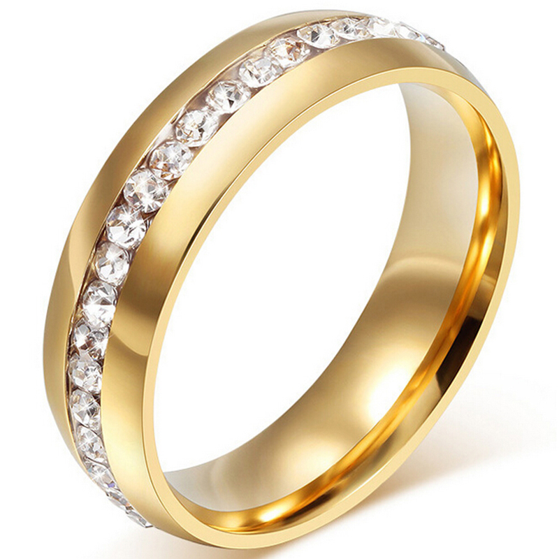 Top quality brand jewelry 18k real gold plated women men for Best mens jewelry sites