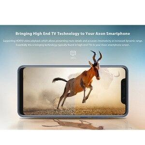 "Image 3 - 2018 Original ZTE AXON 9 Pro 4G LTE IP68 กันน้ำ 6.21 ""8GB 256GB Snapdragon 845 Octa core NFC 4000mAh 20MP Hi Fi"