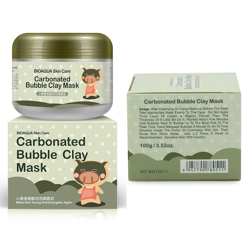 Beauty & Health 75 Ml Deep Pore Cleansing Clay Mask Carbonated Bubble Anti-acne Moisturizing Face Mask Sleeping Mask Treatments & Masks