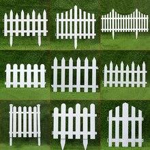 5 шт./упак. Пластик забор двор закрытый сад забор детский сад с цветочным принтом в виде садовых овощей маленький забор рождественские украшения
