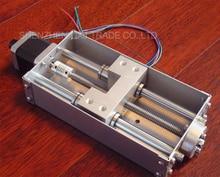 Бесплатная Доставка 1 шт. 42 BYGH Z axis скользящий рабочий стол 140 мм ход ЧПУ оси Z для СТАНКОВ С ЧПУ гравировки машина