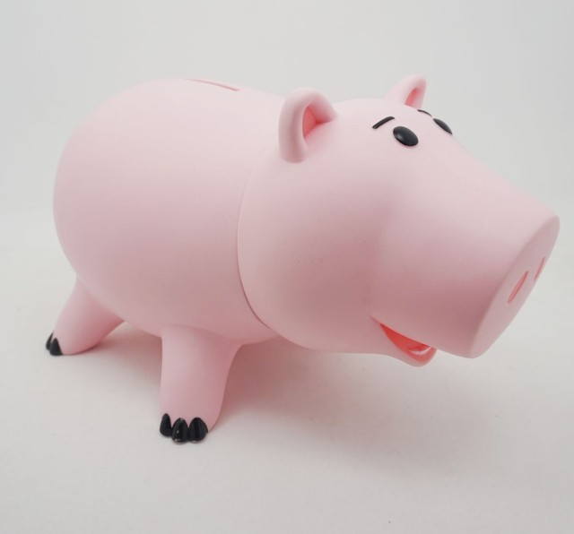 8 20cm Toy Story Hamm Piggy Bank Pink Pig Coin Box Pvc Model Toys For