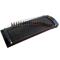 Portable Mini Professional Guzheng Chinese National 21 Strings Zither Musical Instruments With Accessories Free Shipping