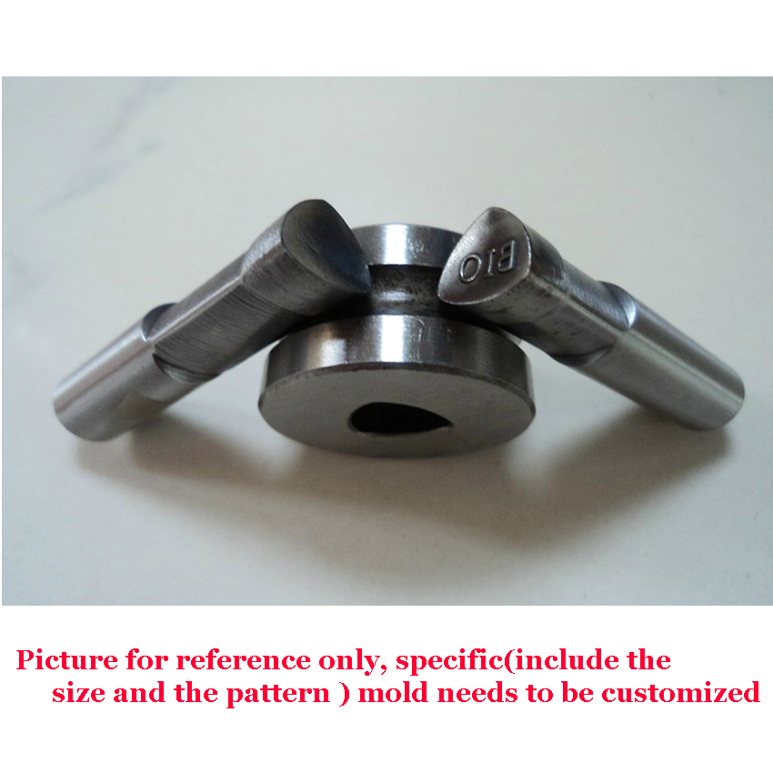 1 set mold / die for tablet press machine bar stamp Customized Double punch /tablet press tool