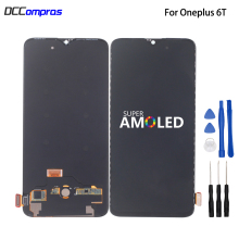 Amoled LCD For Oneplus 6T Display Touch Screen Digitizer Assembly Phone Parts Free Tools