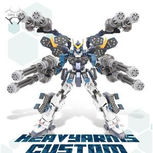 Набор экшн-фигурки Comics, набор моделей Super Nova, XXXG-01S2 Вт, оружие, настраиваемая модель, MG 1/100