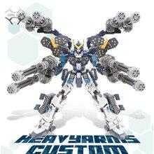 Набор экшн фигурки Comics, набор моделей Super Nova, XXXG 01S2 Вт, оружие, настраиваемая модель, MG 1/100