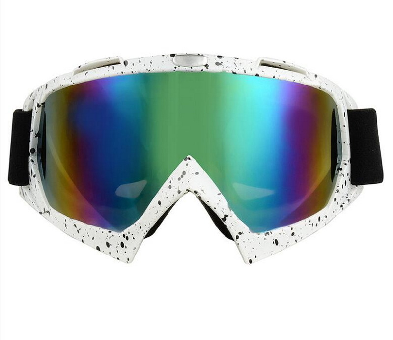 by dhl 20pcs Snowboard Ski Windproof Dustproof Goggles Motorcycle Cycling Safe Helmet Goggles Skiing Glasses Eyewear