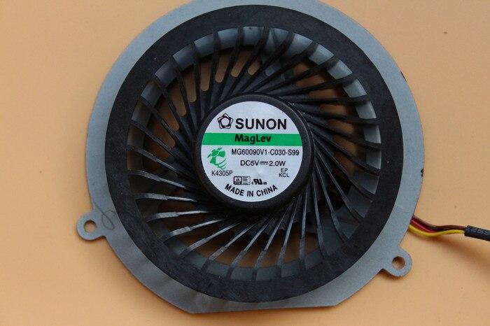 SUNON MG60090V1-C030-S99 Server Laptop Fan DC 5V 2.0W 4-wire free shipping for sunon eg50040v1 c06c s9a dc 5v 2 00w 8 wire 8 pin server laptop fan
