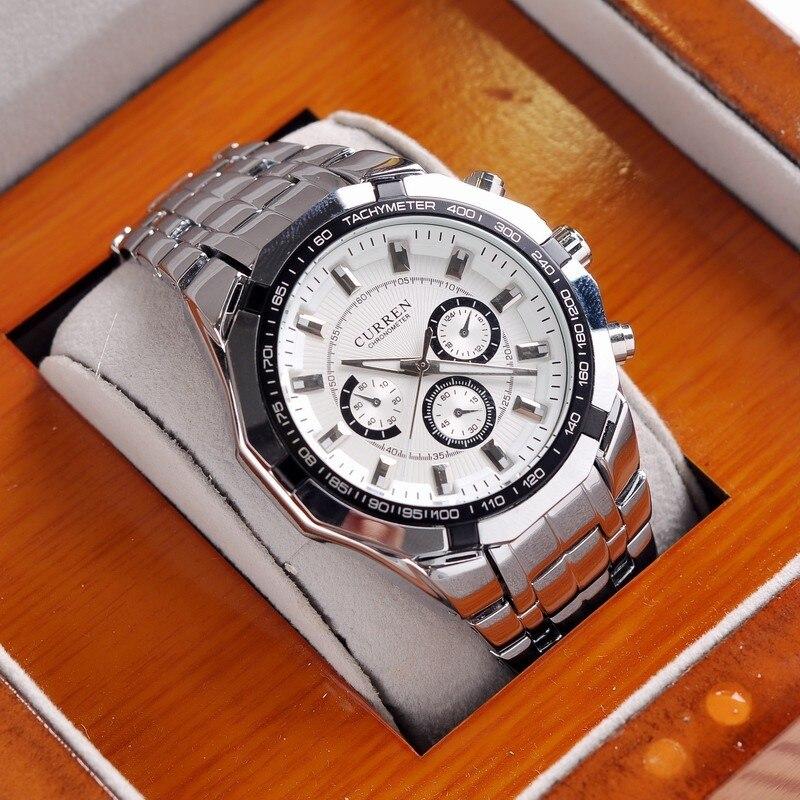 Prix pour Curren marque casual montres hommes de luxe de mode d'affaires montres vente chaude femmes quartz montres sport montres 0840