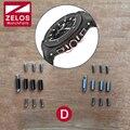 4 peças/set de aço fix Parafuso para Hub Big bang 44mm assista case orelha lado da haste, relógio acessórios de manutenção