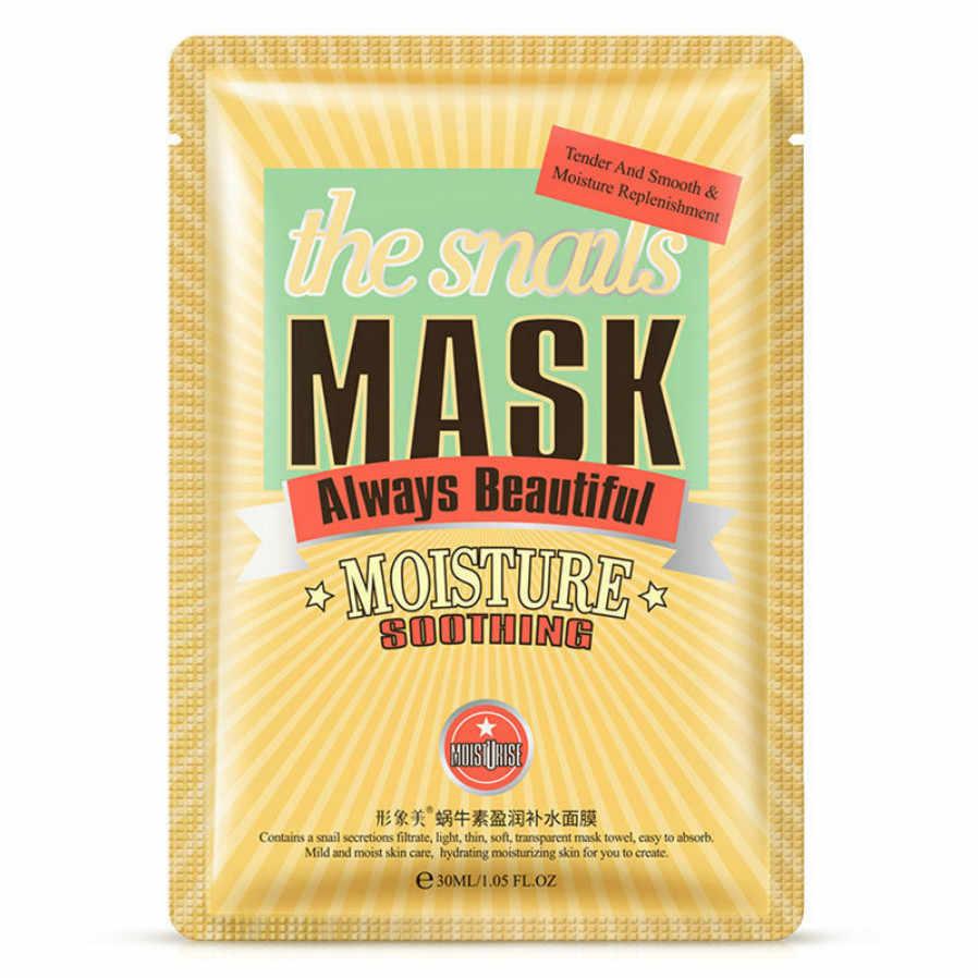 YENI Hyaluronik Asit Maskesi Cilt Bakımı Bitki Yüz Maskesi Nemlendirici Yağ Maske Yüz Bakımı Kontrolü Siyah Nokta Remover Sarılmış Maskesi Yüz