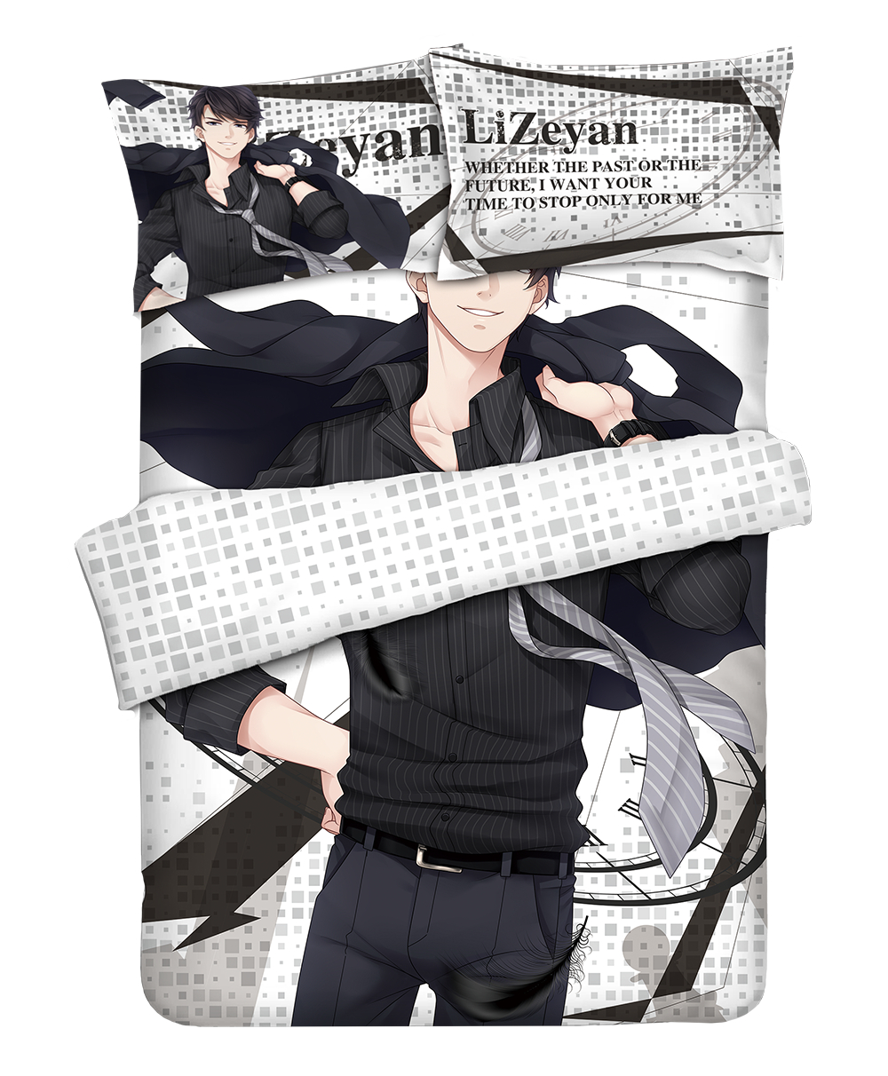 New Game Love And Producer Bedding Set With Pillow Cases Bed Sheet Duvet Cover Set