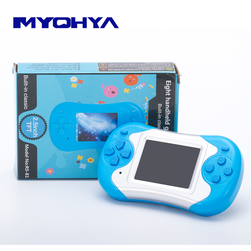 Retro portable handheld video game console Held handheld game player to tv built in 180 games good gift for kids