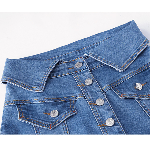 A-line Denim Skirts 5
