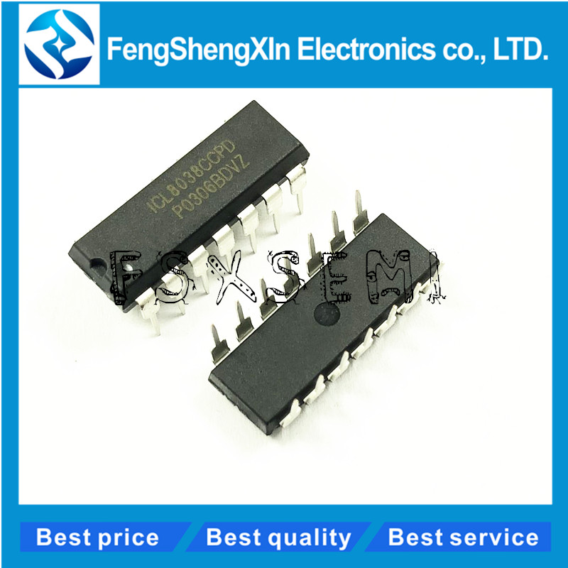 5pcs/lot ICL8038CCPD ICL8038 Voltage Controlled Oscillator IC DIP-14