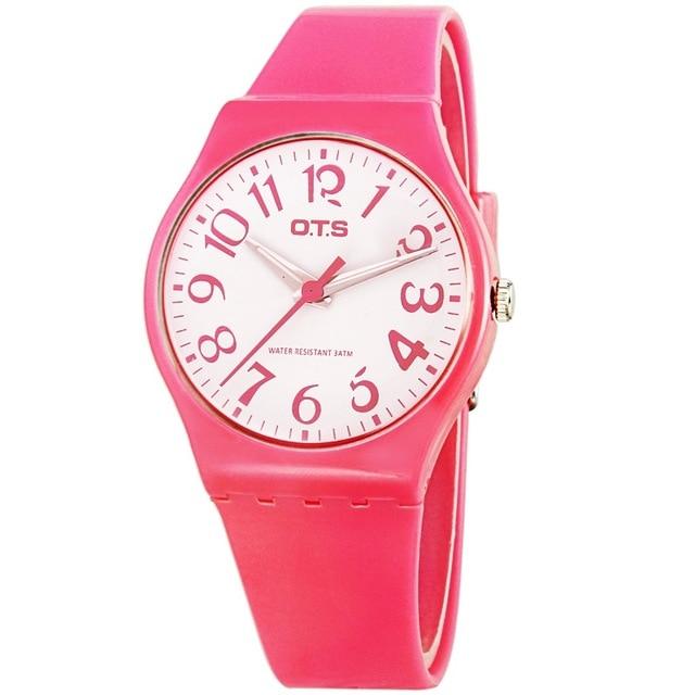 Relojes deportivos Relojes Relogio Feminino de silicona Venta - Relojes para mujeres