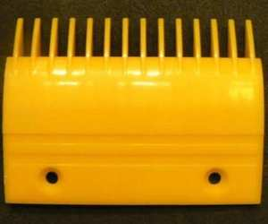 Escalator Comb Plate Yellow Color YS017B313
