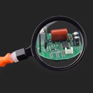 Image 5 - Newacalox 세 번째 손 납땜 pcb 홀더 도구 6 팔 돋보기 렌즈와 손을 돕는 usb 충전 미니 led 손전등