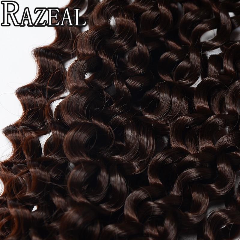 Razeal πλέκω πλεξούδα μαλλιών - Συνθετικά μαλλιά - Φωτογραφία 6