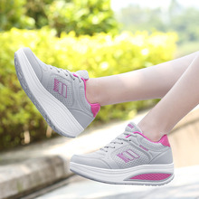 VTOTA Luxury Sneakers Women Platform Wedges Height Increasing Shoes Ladies Trainers zapatos mujer Designer Chunky