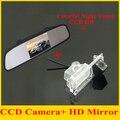"4.3 ""монитор автомобиля зеркало TFT LCD 800*480 + вид сзади автомобиля резервного копирования камера для Kia K2 Рио Хэтчбек Kia Ceed 2013 стоянка для автомобилей камера"