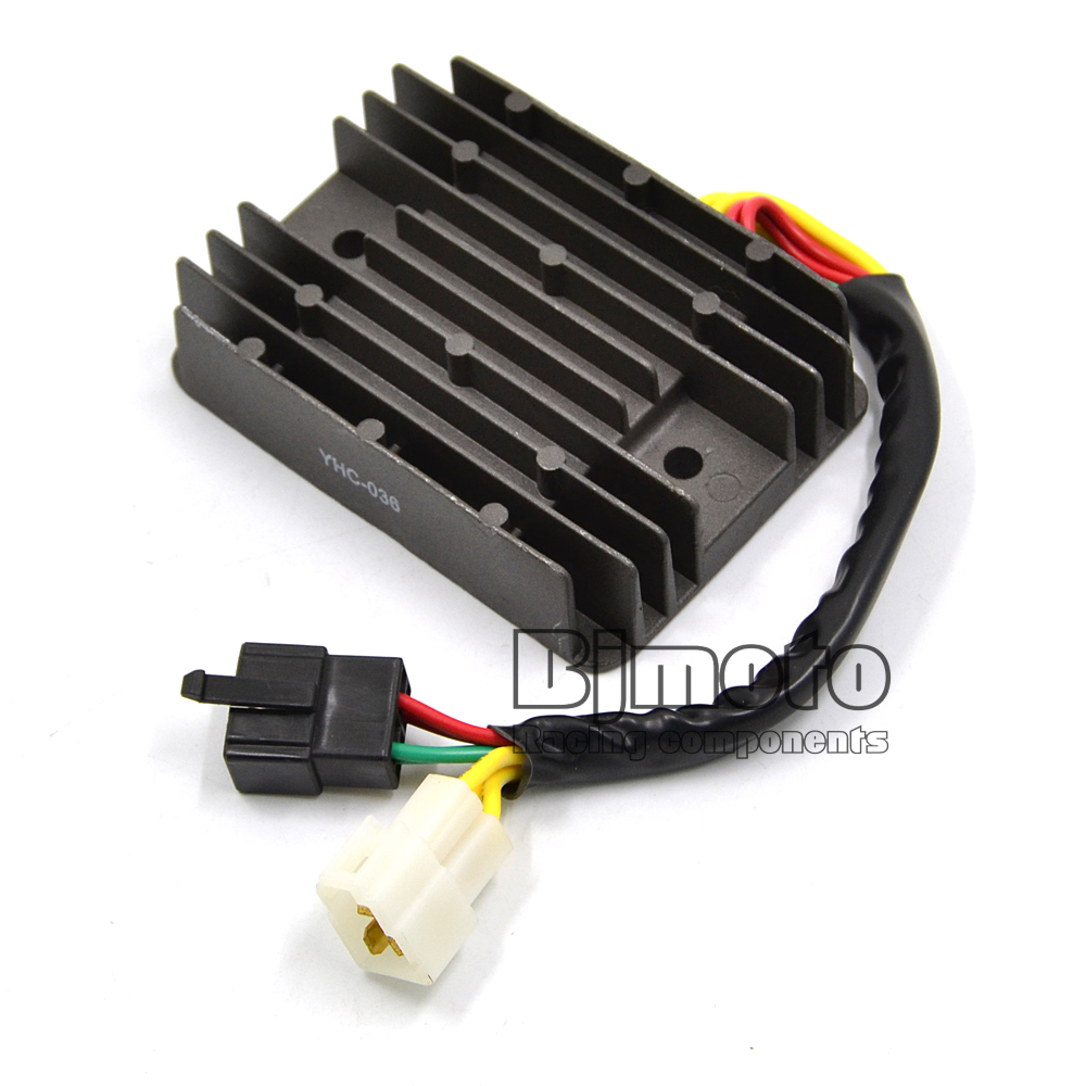 YHC-036 Motorcycle Metal Voltage Regulator Rectifier For Ducati Monster 620 696 695 750 Monster 600 800 900 Hypermotard 1100